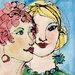 """DEInternationalGraphics """"Lost in Thought"""" von Jane Burt, Kunstdruck"""