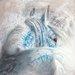 """DEInternationalGraphics Acrylglasbild """"Brume d´argent I"""" von Cédric Cazal, Kunstdruck"""