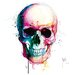 """DEInternationalGraphics """"Angel`s Skull"""" von Patrice Murciano, Kunstdruck"""
