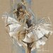"""DEInternationalGraphics """"White Dress III"""" von Kitty Meijering, Kunstdruck"""