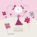 DEInternationalGraphics Girl on a Swing Kunstdruck von Sigal Melinger