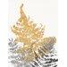 """DEInternationalGraphics """"Blattgold I"""" von SARA Design, Kunstdruck"""