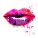 "DEInternationalGraphics ""Acrylglasbild Color of Kiss"" von Patrice Murciano, Kunstdruck"