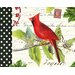 """DEInternationalGraphics """"Cardinal"""" von Gwenaëlle Trolez, Grafikdruck"""