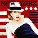 """DEInternationalGraphics """"Femme New York"""" von Anne Bernard, Kunstdruck"""