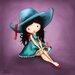 """DEInternationalGraphics """"Sweet Innocence"""" von Jolinne, Kunstdruck"""