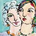 """DEInternationalGraphics """"The Secret"""" von Jane Burt, Kunstdruck"""