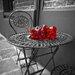 "DEInternationalGraphics ""Romantic Roses II"" von Assaf Frank, Fotodruck"