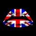 "DEInternationalGraphics Acrylglasbild ""England Kiss"" von Morgan Paslier, Grafikdruck"