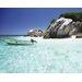 """DEInternationalGraphics """"Seychelles II"""" von Nicolas Bialylew, Fotodruck"""