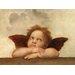 """DEInternationalGraphics """"Die Sixtinische Madonna (Detail) IV"""" von Raffael, Kunstdruck"""