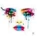 """DEInternationalGraphics """"Colors"""" von Patrice Murciano, Kunstdruck"""