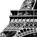 """DEInternationalGraphics Acrylglasbild """"Tour Eiffel Zoom"""" von Dominique Massot, Fotodruck"""