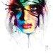 """DEInternationalGraphics """"Coralie I"""" von Patrice Murciano, Kunstdruck"""