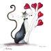 """DEInternationalGraphics """"Valentino"""" von Marilyn Robertson, Kunstdruck"""