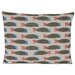 Hinchcliffe and Barber Paper Fish Scatter Cushion