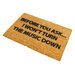 Artsy Doormats Loud Music Doormat