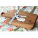 Harch Wood Couture Paddle Cutting Board