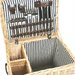 Greenfield Carlton Willow Picnic Hamper for Four People