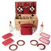 Greenfield Goodwood Willow Picnic Hamper for Six People