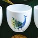 Catchii Birds of Paradise Peacock Head Coffee Cup