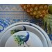 Catchii Birds of Paradise Peacock Head Salad Bowl