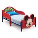 DeltaChildrenUK Mickey 3D Twin Convertible Toddler Bed