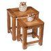 Hallowood Furniture London 2 Piece Nest of Tables