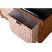 Hallowood Furniture New Waverly Wood Storage Kitchen Bench