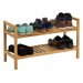 Hallowood Furniture New Waverly 2 Tier Stackable Shoe Rack