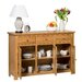 Hallowood Furniture New Waverly 3 Door 3 Drawer Sideboard