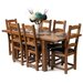 Hallowood Furniture Rochester Extendable Dining Table