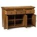 Hallowood Furniture Rochester 3 Door 3 Drawer Sideboard