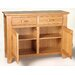 Hallowood Furniture Camberley 2 Door 2 Drawer Sideboard