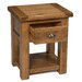 Hallowood Furniture Rochester Side Table