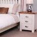 Hallowood Furniture Ascot 3 Drawer Bedside Table