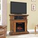 """ClassicFlame Corinth TV Cabinets for TVs up to 47"""" with Electric Fireplace"""