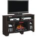 """ClassicFlame La Salle TV Cabinets for TVs up to 65"""" with Electric Fireplace"""