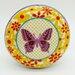G Decor Daisies Butterfly Door Knob