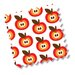 MilleMarille Wickelauflage Funky Apples