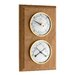 Blooming Weather Barometer and Thermometer