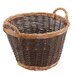 Old Basket Supply Ltd Willow Unpeeled and Buff Basket