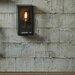 Dar Lighting Era 1 Light Semi-Flush Wall Light