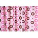 Bacati Mod Dots Cotton Rod Pocket Single Curtain Panel