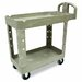 Rubbermaid Commercial Heavy-Duty Two-Shelf Utility Cart