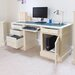 Baumhaus Cadence Computer Desk with Keyboard Tray
