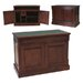 Baumhaus La Roque Armoire Desk with Keyboard Tray