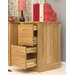Baumhaus Mobel 2-Drawer Vertical Filing Cabinet