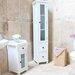 Baumhaus Hampton 39 x 180cm Free Standing Tall Bathroom Cabinet