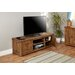 """Baumhaus Heyford Rough Sawn TV Stand for TVs up to 85"""""""